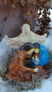 Nativity in Snow